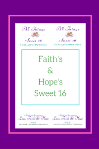 faith and hope sweet 16