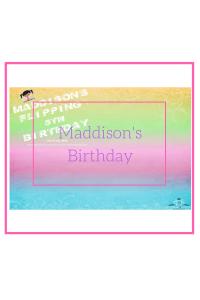 maddiosn birthday