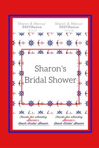 Sharon bridal shower